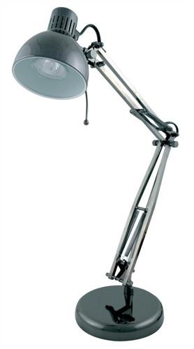 Desk Lamp Hobby Adjustable 35w Black Chrome