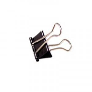 Black 50mm Foldback Clip Pk10