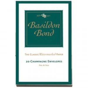 Basildon Bond Small Champagne Env Pk200