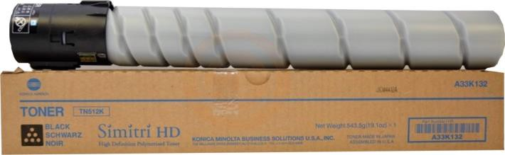Konica Minolta Laser Toner Cartridge Page Life 29000pp Black Ref MINTN512K