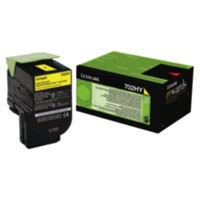 Lexmark 702HK Laser Toner Cartridge Return Program High Yield Page Life 4000pp Black Ref 70C2HK0