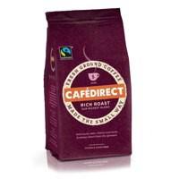 Cafe Direct Rich Roast Ground Coffee Fairtrade 227g Ref A06727