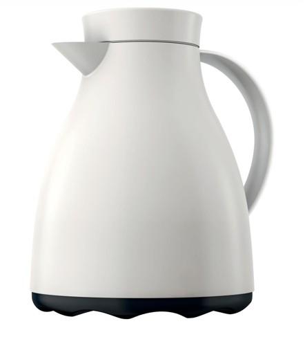 Emsa Mambo Vacuum Jug Easy Clean 1 Litre White Ref 517467