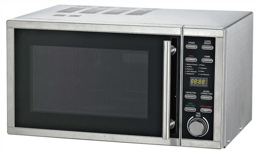5 Star Facilities Microwave Combination Oven and Grill 900W 30 Litre Stainless Steel