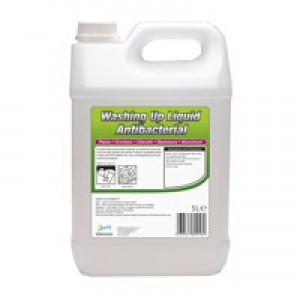 2Work Antibact Washing Up Liquid 5Ltr