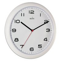 Acctim White Aylesbury Wall Clock 92/301