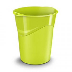 CEP Pro Gloss Green Waste Bin 280G GREEN