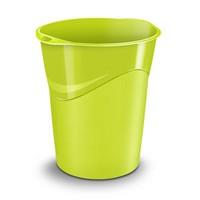 CEP Pro Gloss Green Waste Bin 280G GREEN