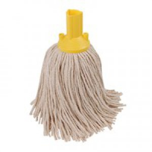 Exel 250g Yellow Mop Head Pk10 PYYE2510L