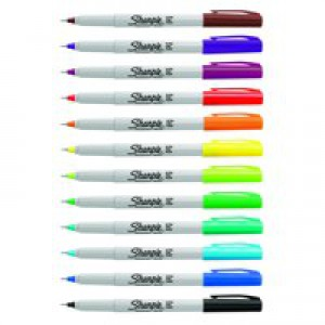 Sharpie Ultra Fine Assorted Pk12