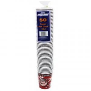 Caterpack 8oz 25cl Hot Cup Pk50