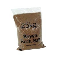 Winter Dry Brown Rock Salt 25kg