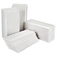 2Work White 2 Ply C Fold Hand Towels