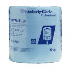 Wypall Blue L10 Centrefeed Roll Pk6