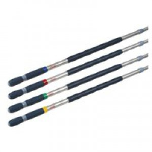 Telescopic Handle with Assorted Clips