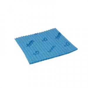 Vileda Breazy Blue Microfibre Cloth Pk20