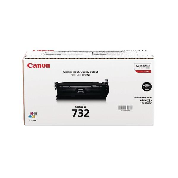 Canon 732 Laser Toner Cartridge High Yield Page Life 12000pp Black Ref 6264B002