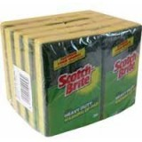 Image for 3M Scotchbrite Washing Up Scouring Sponge Pack of 10 1821