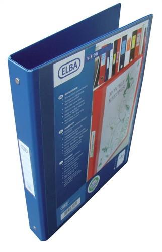 Elba Vision RBnder 2Ring Blue 100080886