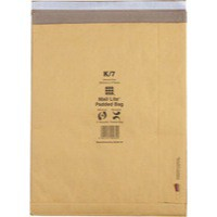 MailLite Postal J/6 Gold Padded Bag Pk50