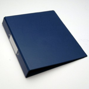 Blue A4 2-Ring Ring Binder Pk10