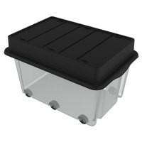 Strata Clear/Black Mega Crate HW409