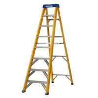 Abru F/G Yellow Swingback 8 Step Ladder