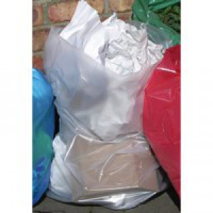 2Work Clear Polythene Bag Roll Pk250