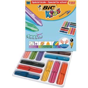 Image for Bic Plastidecor Triangle Crayon Pk144