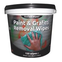 EcoTech Paint + Graffiti Wipes Tub 150