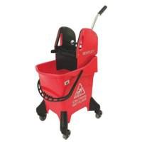 Hygineer Ergo Red H/Dty Mop Bucket 31Ltr