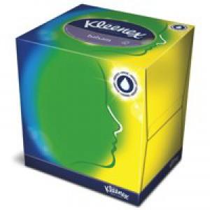 Kleenex Facial Tissue Cube White Ref 8825 [Pack 12]
