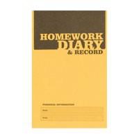Silvine A6 Homework Diary PK20