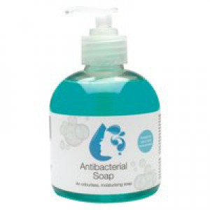2Work Antibacterial Pump Soap 300ml Pk6