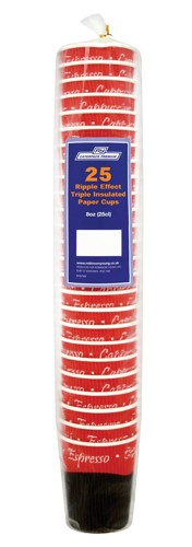 Caterpack Ripple Cups 16oz 45cl Ref RY00751 [Pack 25]