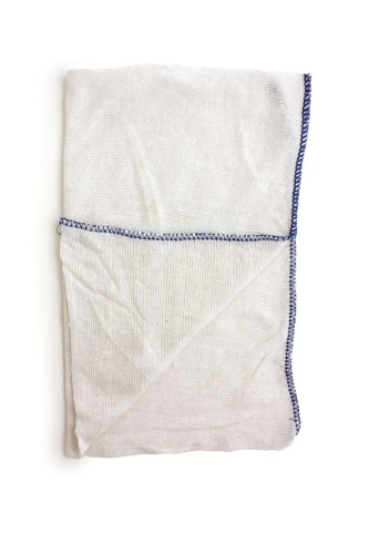 Dish Cloths Stockinette Blue [Pack 10]