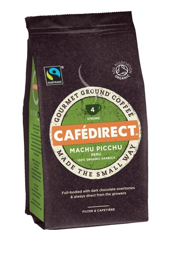 Cafe Direct Machu Pichu Peruvian Coffee Beans 227g Ref FCR1004