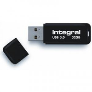 Integral Black Noir USB 32GB Flash Drive