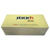 Value Sticky Notes 38x51mm YL PK12