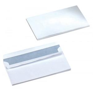 Business Envelopes Wallet Self Seal 90gsm White DL [Pack 500]