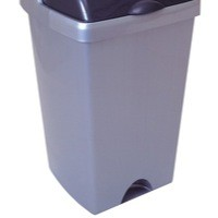 Addis 24L Bin Base Metallic No Lid Included