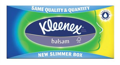 Kleenex Balsam Tissues Box72
