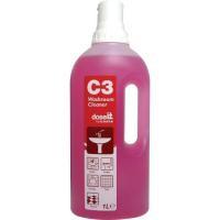 C3 Washroom Cleaner 1Ltr Pk8