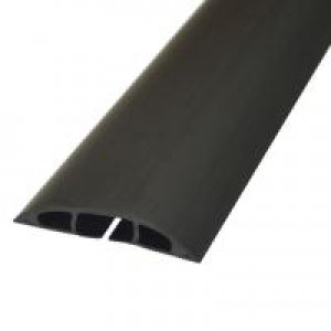 Image for D-Line Black 9m Floor Cable Cover 80mm