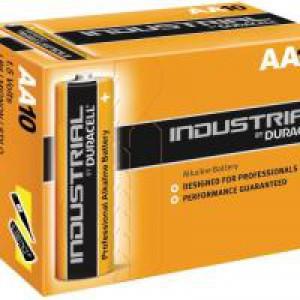 Duracell Industrial Batteries AA Pk10