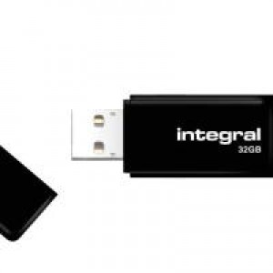 Integral Black USB 32GB Flash Drive