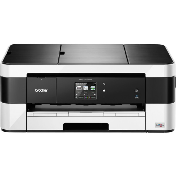 Brother MFC-J4420DW Colour Inkjet Multifunction Printer Duplex Wi-Fi 20ppm A3 Ref MFCJ4420DWZU1