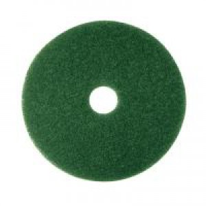 3M Economy 380mm Green Floor Pad Pk5