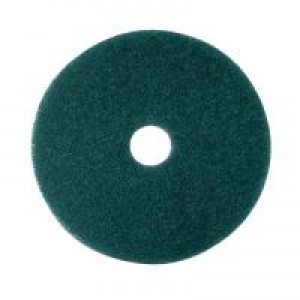 3M Economy 430mm Green Floor Pad Pk5