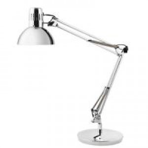 Image for Alba Archifluoch Desk Lamp Chrome